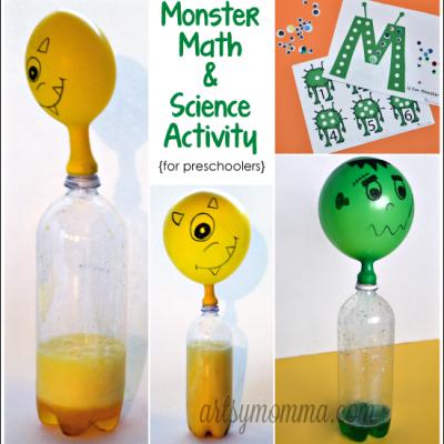 M is for Monster: Math & Science Preschool Activities