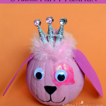 Adorable Princess Puppy Pumpkin Decoration – Kids Craft