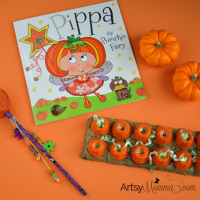 Pippa the Pumpkin Fairy Book + Pumpkin Crafts