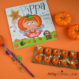 Pippa the Pumpkin Fairy Book and Pumpkin Crafts + DIY Fairy Wand