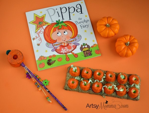 Pippa the Pumpkin Fairy Book and Pumpkin Crafts + DIY Fairy Wand
