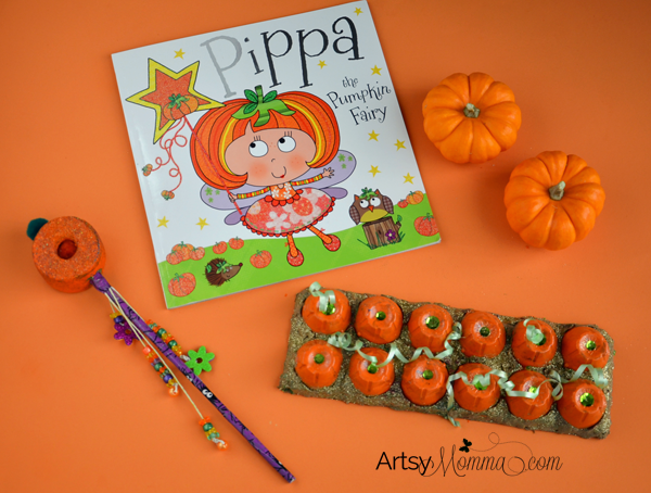 Pippa the Pumpkin Fairy Book and Pumpkin Crafts