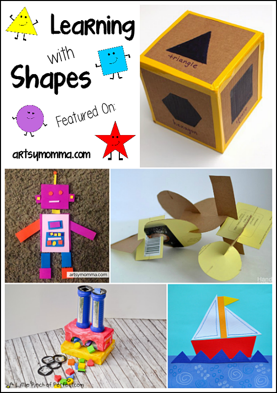 Worksheets Preschool Learning Activities preschool activities learning with shapes artsy momma shapes