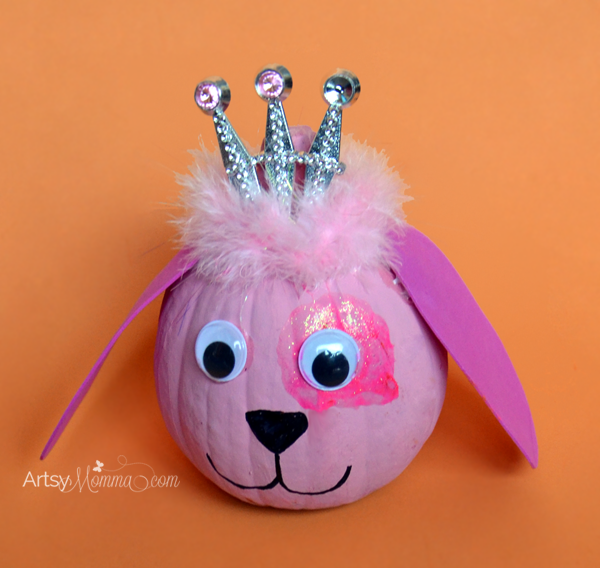 Adorable Pink Princess Puppy Craft & Decoration