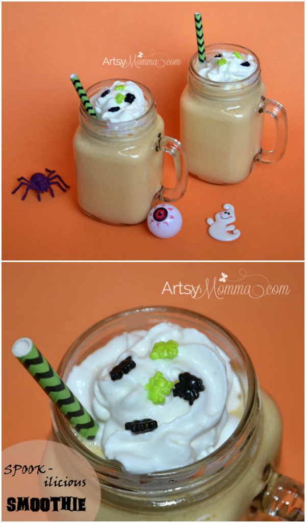 Yummy Smoothie Recipe for Halloween