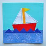 Preschool Activities: Shape Boat Craft