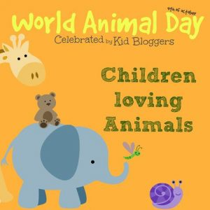 celebrate world animal day with kids. Black Bedroom Furniture Sets. Home Design Ideas