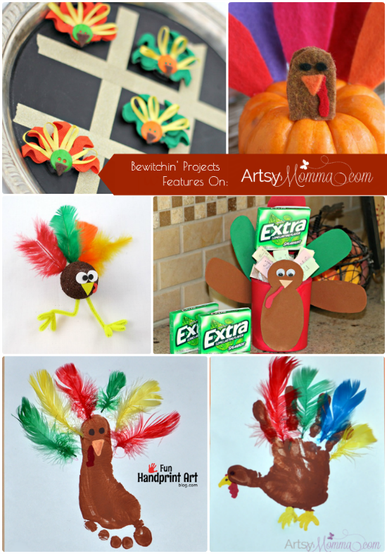 12 Turkey Crafts for Kids That Are Fun To Make!