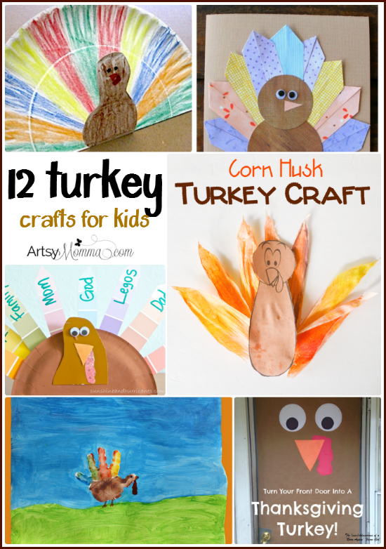 12 Turkey Crafts for Kids
