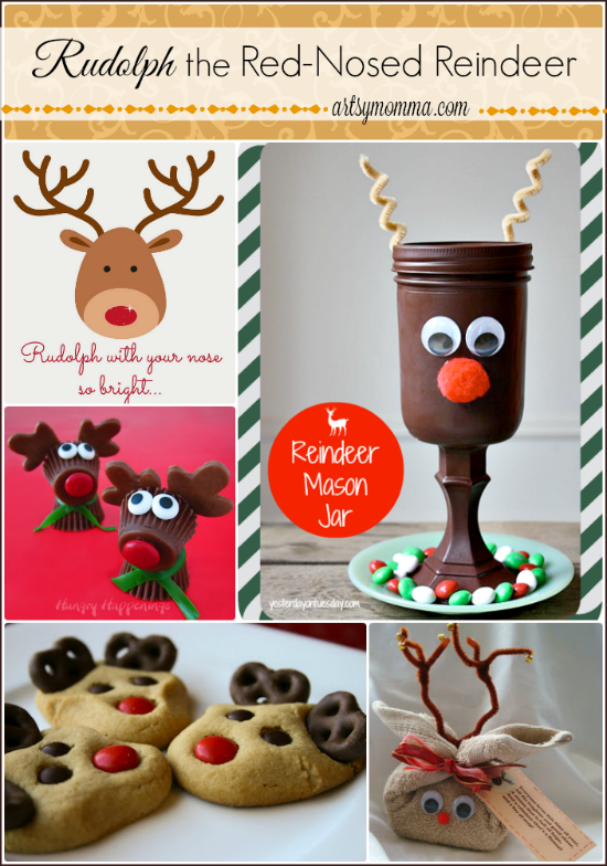 21 Rudolph the Red-nosed Reindeer Crafts