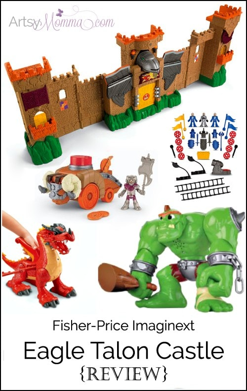 Fisher-Price Imaginext Eagle Talon Castle Review