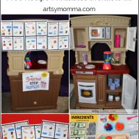Pretend Play: Smoothie Cafe + Free Printable Smoothie Recipes