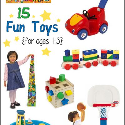 Fun Toys for 1-3 year olds! Gift Guide for Toddlers