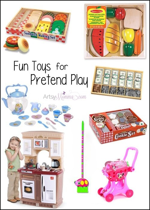 Fun Toys for Pretend Play - Holiday Wish List for Kids