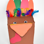 Recycled Craft: Make a Box Turkey {+ 6 uses for it!}