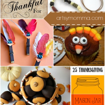 Thanksgiving DIY, Desserts, and Printables {Bewitchin' Projects Linky}