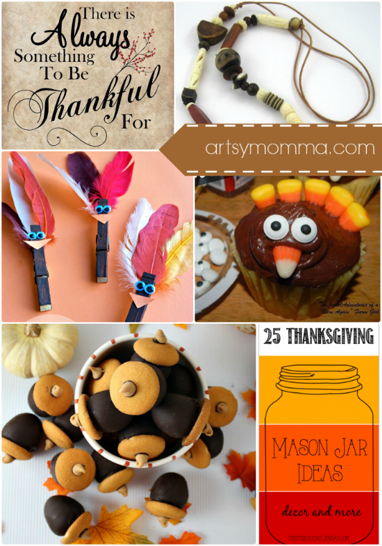 Thanksgiving DIY, Desserts, and Printables