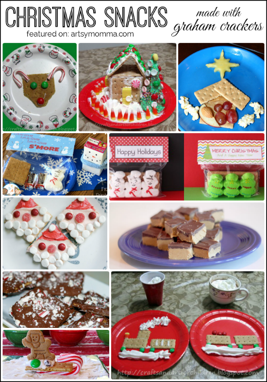 Top 10 Christmas Snacks made using Graham Crackers