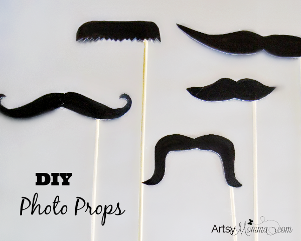DIY Mustache Photo Props