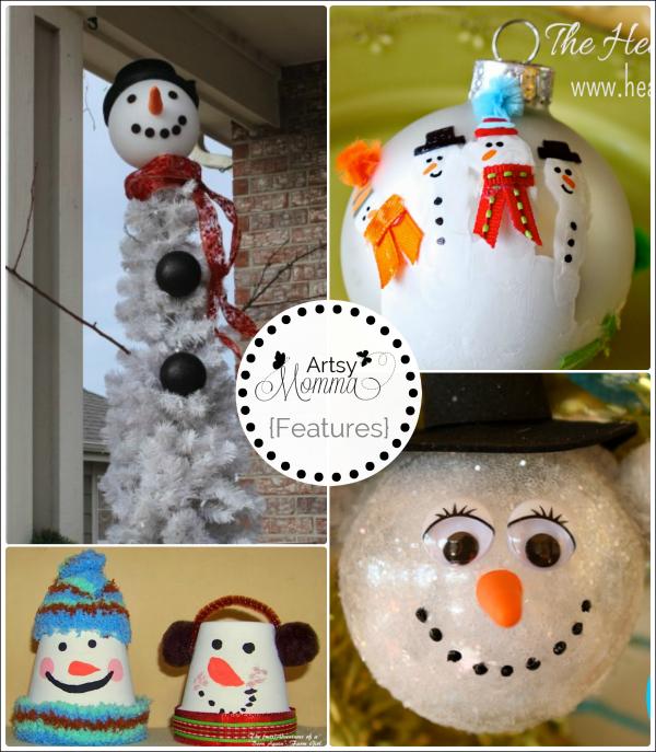 DIY Snowman Crafts
