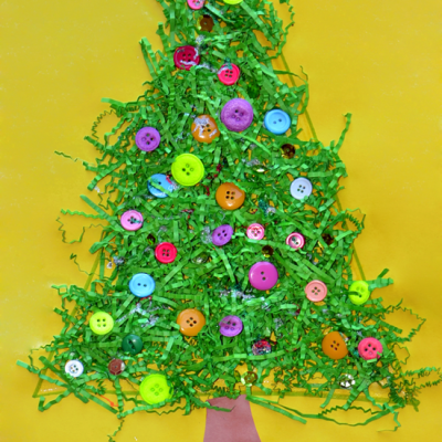 Fun Christmas Tree Craft for Kids