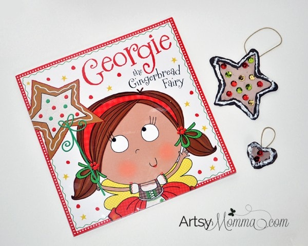 Georgie the Gingerbread Fairy Book + Ornament Craft