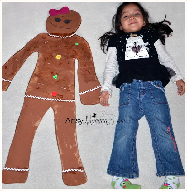 Gingerbread Girl Craft for Preschoolers