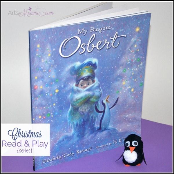 My Penguin Osbert Book + Pom Pom Penguin Craft