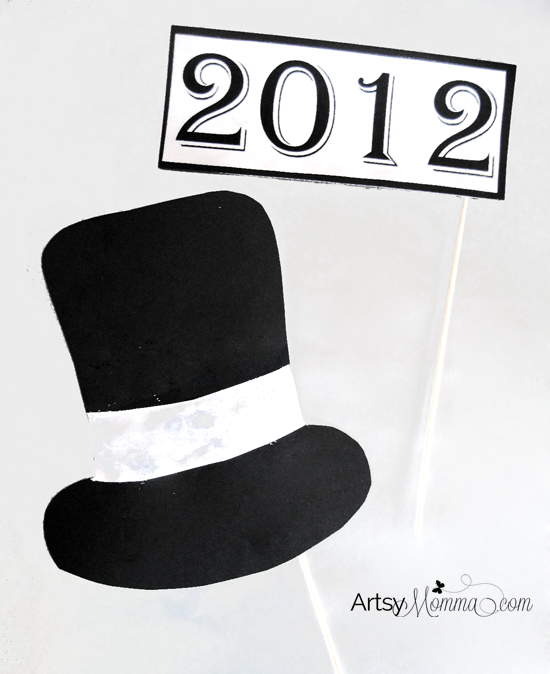 New Year's Hat Photo Prop
