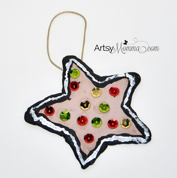 Ornament Craft for Kids using Clay
