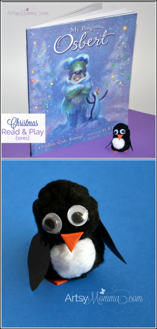 Pom Pom Penguin - My Penguin Osbert Christmas Book for Kids