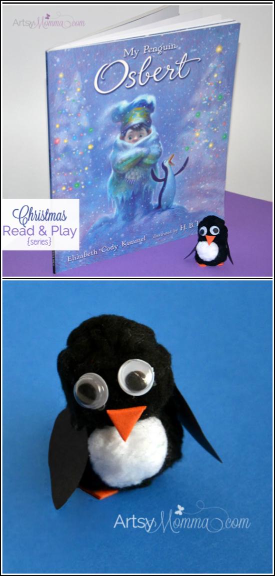 Pom Pom Penguin - My Penguin Osbert Christmas Book for Kids