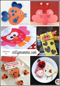 10 Heart-shaped Animals - Valentine's Day Crafts for Kids