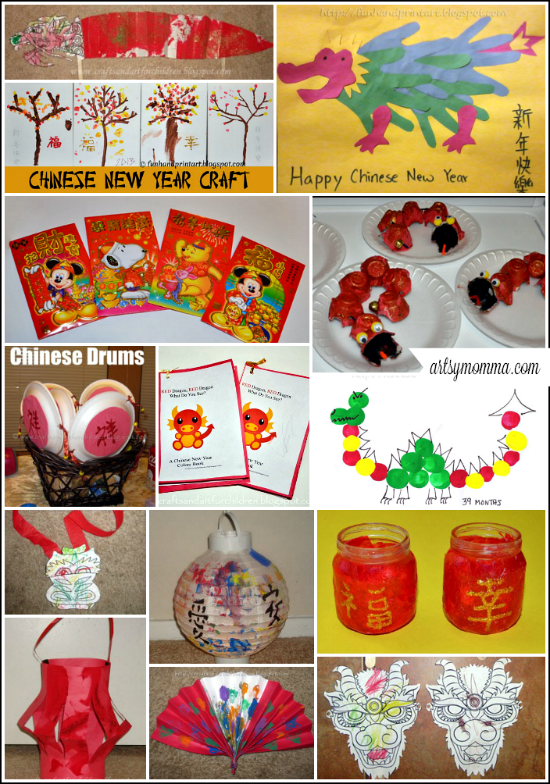 chinese new year crafts for kids and party ideas artsy momma chinese new year crafts for kids and