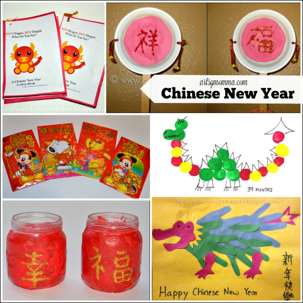 Beautiful New Year Craft Ideas For Kids Part - 7: Chinese New Year Crafts For Kids