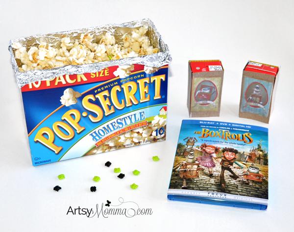 The Boxtrolls Movie Night + Crafts & Snack Ideas