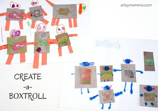 Create-a-Boxtroll Craft for Kids