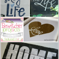 DIY Decor: Signs with Sayings {Bewitchin' Projects}