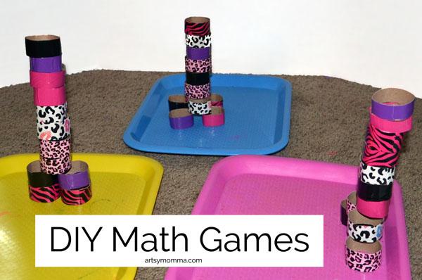 DIY Math Games for Kids