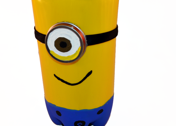 Despicable Me Minion Craft made from Plastic Bottle