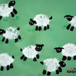 Fingerprint-and-Loofah-Stamped-Sheep-Craft