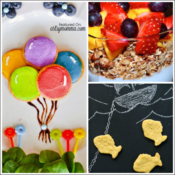 Fun & Healthy Snack featured on the Bewitchin' Projects Linky