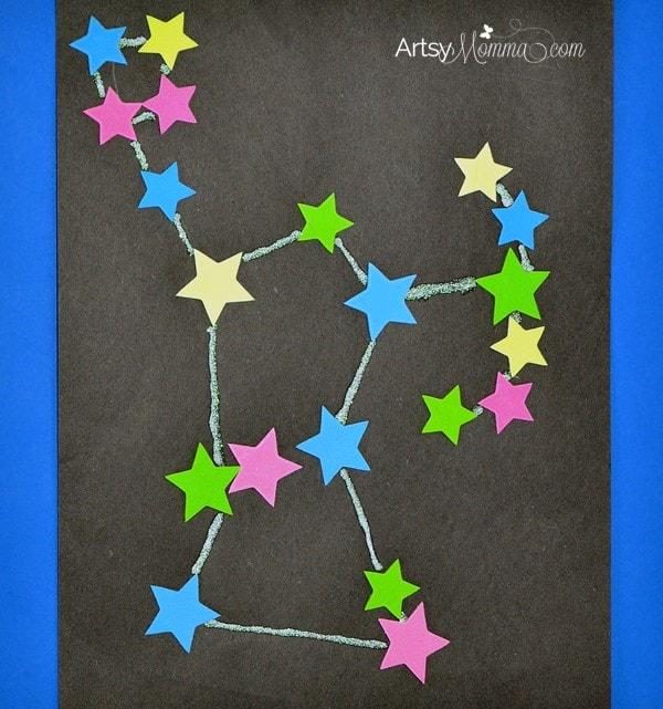 Glow-in-the-dark Constellation Craft - Orion