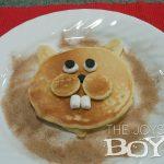 Pancakes that look like Groundhogs