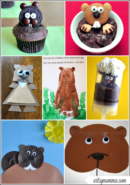 groundhog day craft ideas groundhog day crafts for artsy momma 4586