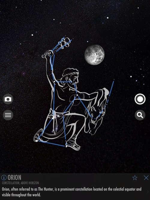 Picture of Orion Constellation