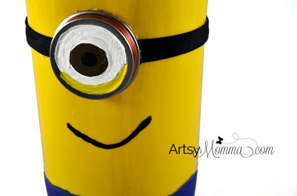 Plastic Bottle Craft - Minion