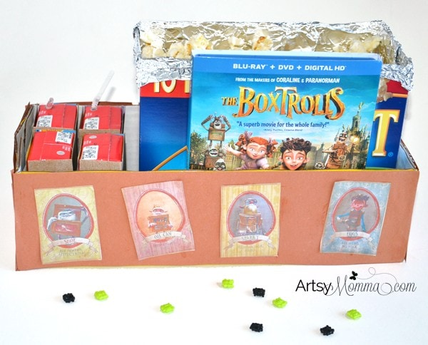 The Boxtrolls Movie Snacks and Crafts for Kids