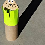 Toilet Paper Tube Groundhog Shadow FUn