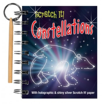 Scratch It! Constellations Book for Kids